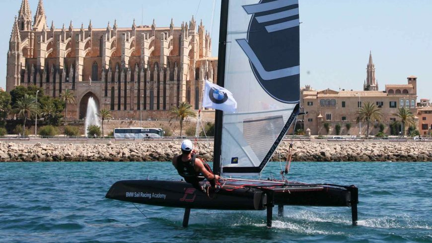 Special event at BMW Sail Racing Academy | BMW Yachtsport Foiling Edition