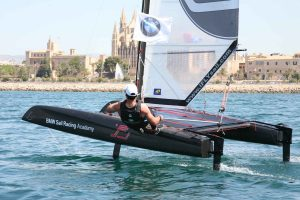 BMW Sail Racing Academy foiling