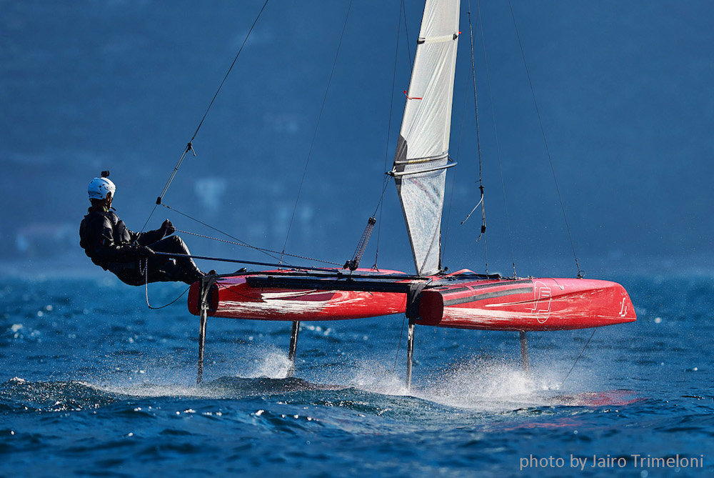 iFLY15 hydrofoiling Catamaran cover image