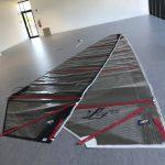 Foiling catamaran sails for ifly15 - fly sail