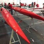 Foiling catamaran sailing with iFLY15 | production