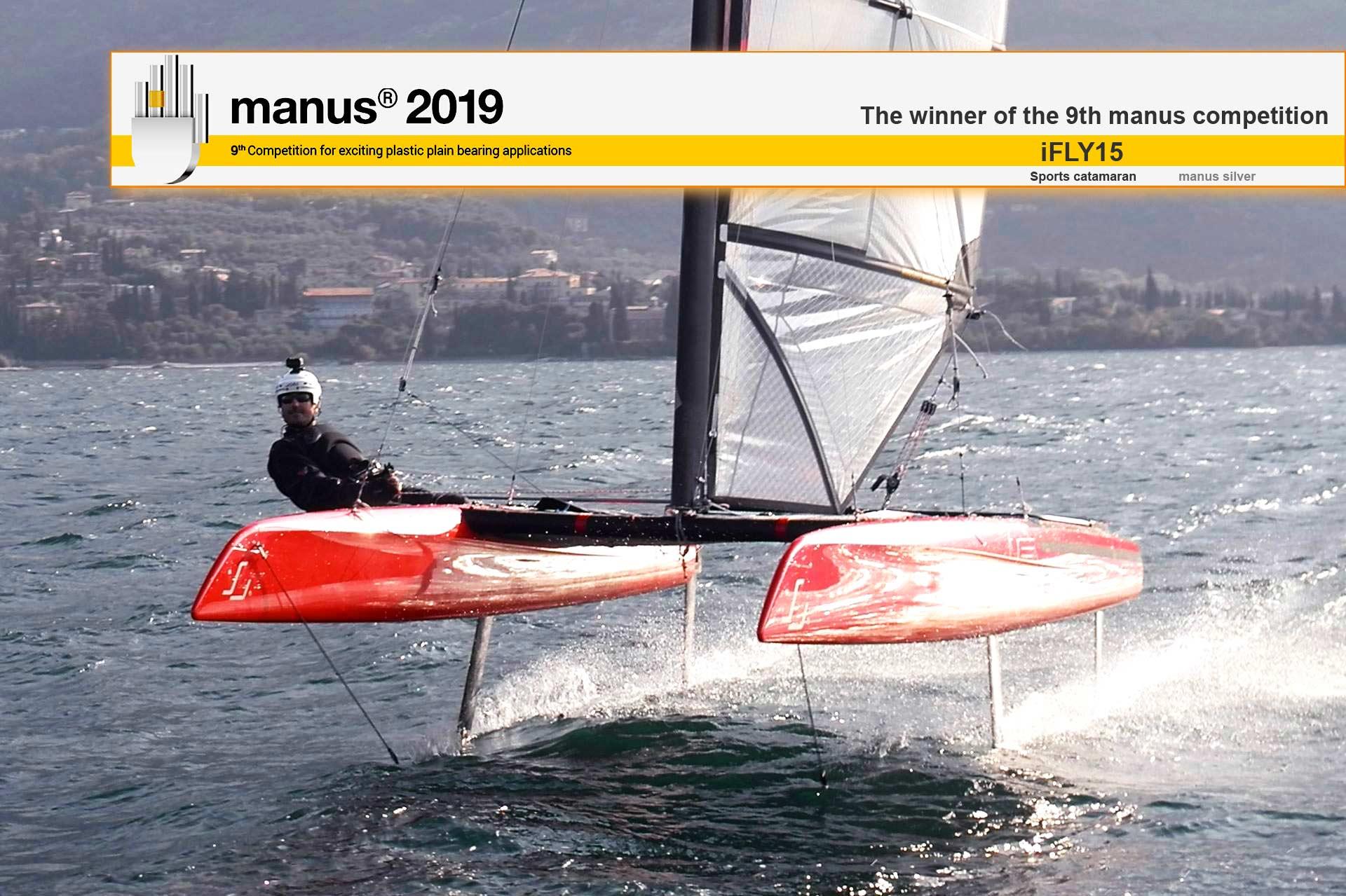 Innovation Award | Silver manus® 2019 – Sports catamaran