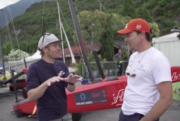 François Gabart navigue sur iFLY15