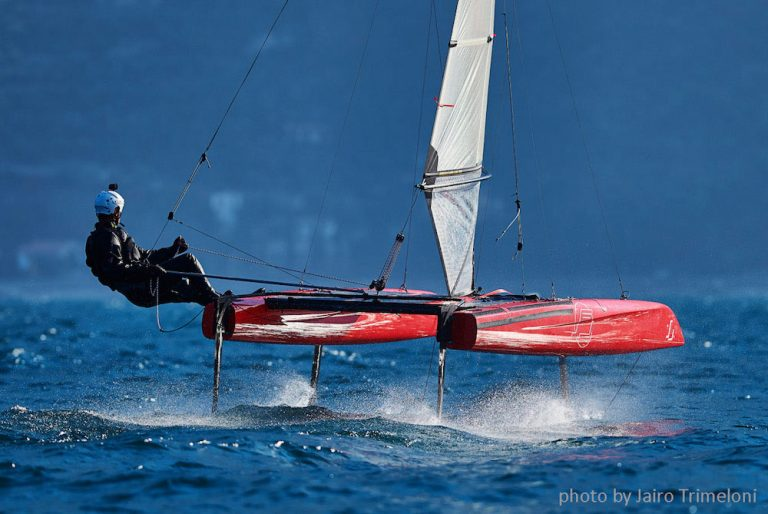 iFLY15 high speed foiling enabled by FlySafe® foil control