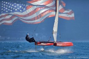 iFLY15 in the USA - foiling sailboat - hydrofoil catamaran
