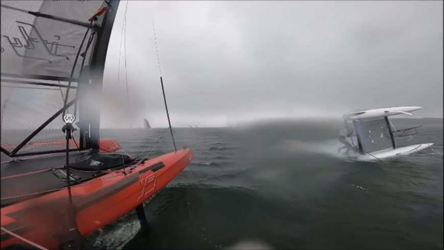 iFLY stable foiling in strong conditions