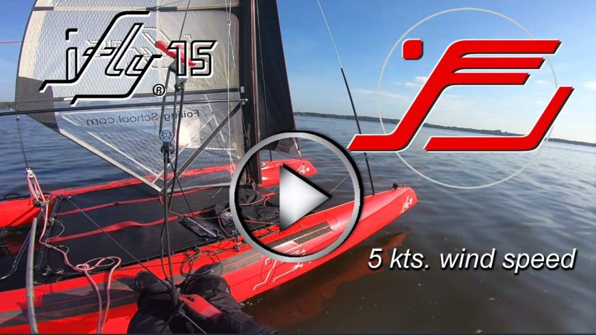 IFLY15 VOLANT EN MOINS DE 5KTS. OF WIND – réduction