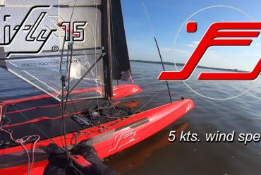 IFLY15 light wind foiling – FLYING IN LESS THAN 5KTS. OF WIND